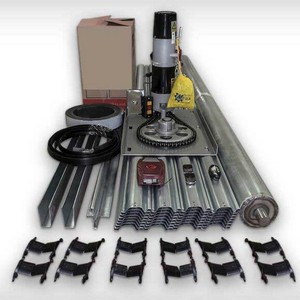 Kit motor para porta de enrolar automática