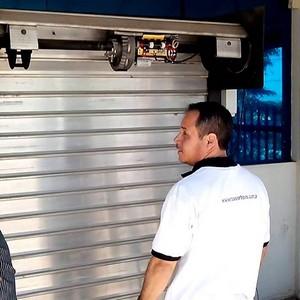 Comprar kit para porta de aço automatica