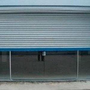 porta de aço automática para loja